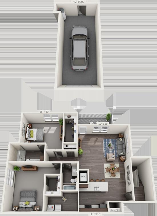 2B Floorplan