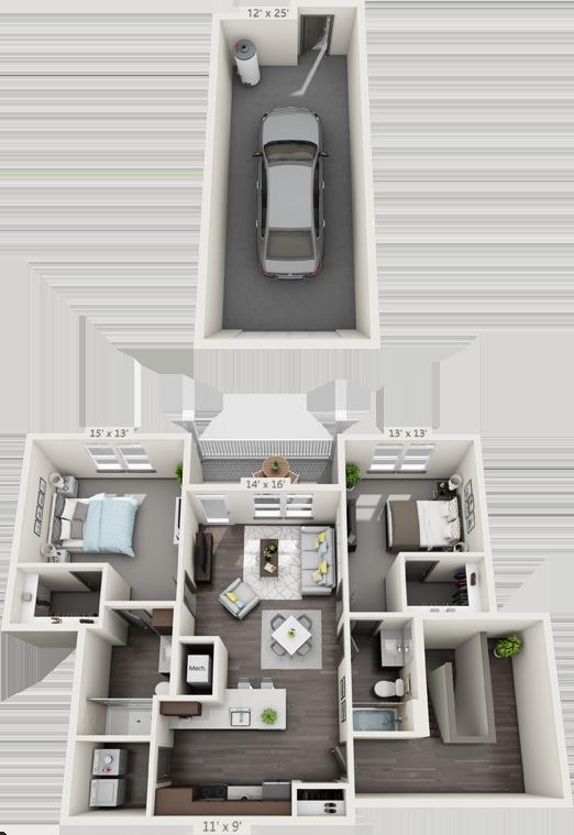 2C Floorplan